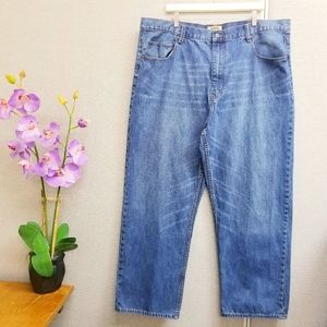 The Foundry Men's blue jeans